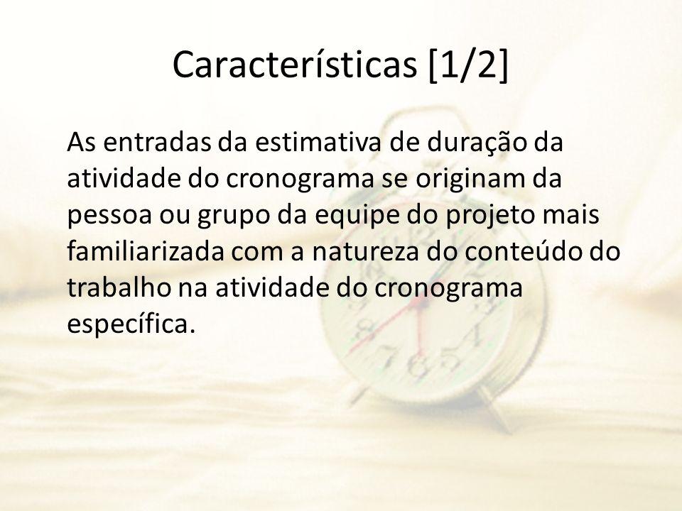 Características [1/2]